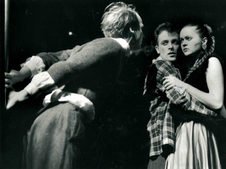 """""""Fegefeuer in Ingolstadt"""" 1992 mit Enrique Keil & Samuel Weiss"""